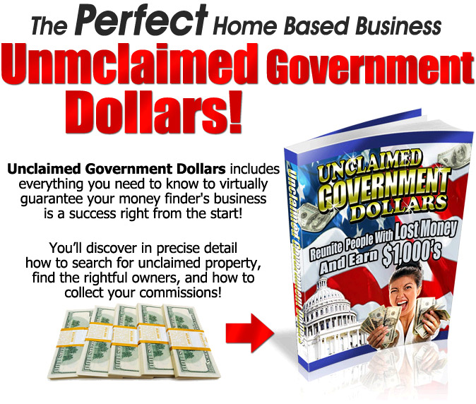 Unclaimed Government Dollars